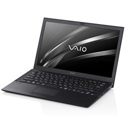 VAIO ビジネス VAIO Pro 13 | mk2 (13.3W/タッチなし/W7Pro64(DG)/Ci5/8GB/256GB/ブラック/VAIO株式会社製) VJP1321LBA1B