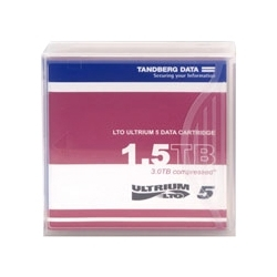 【クリックで詳細表示】タンベルグデータ LTO Ultrium5 データカートリッジ (1.5TB/3.0TB) 433955
