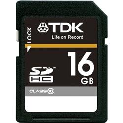 【クリックで詳細表示】SDHCメモリーカード Class10準拠ハイスピードモデル 16GB T-SDHC16GB10