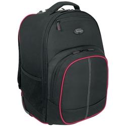 ターガス・ジャパン Compact Rolling Backpack 16inch Black/Red TSB75001AP