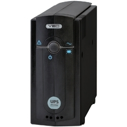 常時商用方式 UPSmini500IIBU バッテリ期待寿命7年/筐体ブラックモデル/USB通信対応 YEUP-051MABU
