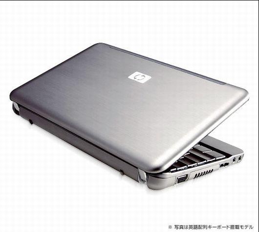 Pavilion 2133 Mini-Note PCスタンダードモデル(日本語FR083PA-AAAAの特徴・参考画像