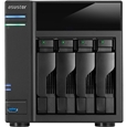 ASUSTOR NAS�P�[�X Intel Celeron CPU �f���A���R�A 1GB������ 4�x�C���f�� AS5004T