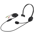 バッファロー(サプライ) ヘッドセット 片耳ヘッドバンド式 ノイズ低減 ブラック BSHSH05BK