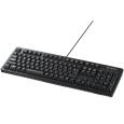 バッファロー(サプライ) USB接続 有線ゲーミングキーボード 丸洗い対応モデル ブラック BSKBUG500BK