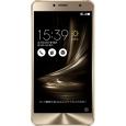 ASUS TeK ASUS ZenFone 3 Deluxe (5.5インチ/64GB/デュアルSIM対応) ゴールド ZS550KL-GD64S4