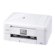 A4インクジェット複合機/白モデル/10/12ipm/両面印刷/有線・無線LAN/ADF/手差し/レーベル印刷 DCP-J968N-W