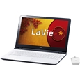 LaVie S - LS150/TSW �G�N�X�g���z���C�gPC-LS150TSW�iNEC�j