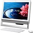 LAVIE Desk All-in-one - DA350/BAW �t�@�C���z���C�gPC-DA350BAW�iNEC�j