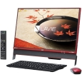 NECパーソナル LAVIE Desk All-in-one - DA370/FAR クランベリー...