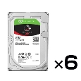 Seagate NAS HDDシリーズ 3.5インチ内蔵HDD 8TB SATA6.0Gb/s 7200rpm 256MB 6台セット品 ST8000VN0002-6