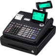 カシオ計算機 電子レジスター 20部門 (ブラック) TE-270020SBK