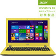 Aspire E15 E5-573-N54D/Y(Core i5-5200U/4G/500GB/S�}���`/15.6/Windows 8.1 Update(64bit)/AP�Ȃ�/�g���s�J���C�G���[)E5-573-N54D/Y�iAcer�j