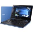 Aspire R 11 R3-131T-A14N/B (Celeron N3060/4GB/32GB eMMC/ドライブなし/11.6/Windows10 Home(64bit)/APなし/スカイブルー/360°ヒンジ)