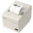 サーマルレシートプリンター/80mm・58mm(紙幅可変)/USB/ホワイト/電源...