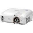 ホームシアタープロジェクター/2200lm/フルHD/Wi-Fi/Bluetooth/3D対応/3Dメガネ別売/80型スクリーン付