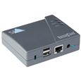 インパクトプリンター用 IPv6+IPv4対応USBプリントサーバー/1000Base...