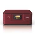 A4インクジェットプリンター/カラリオ多機能/6色染料/作品印刷機能(カラー)/Wi-Fi Direct/スマホ対応/2.7型タッチパネル&フリック操作/レッド EP-879AR