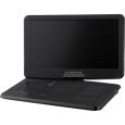 グリーンハウス 15.6型フルセグTV内蔵 ポータブルDVDプレーヤー ブルーライトカットフィルム付属 ブラック 簡易パッケージ GH-PD15JBK1
