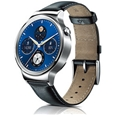 Huawei Watch/W1 Stainless steel+Black leather band