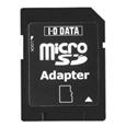 microSDカード専用 SDスロットアダプター