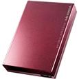 アイ・オー・データ機器 USB 3.0/2.0対応ポータブルハードディスク「超高速カクうす」 2TB ボルドー HDPC-UT2DBBR