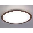 アイリスオーヤマ LEDシーリングライト 木調フレーム 8畳 調光・調色 CL8DL-5.0WF-M