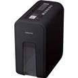 デスクサイドシュレッダー<RELISH> ナイトブラック KPS-X80D
