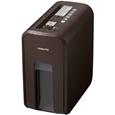 デスクサイドシュレッダー<RELISH> ビターブラウン KPS-X80S