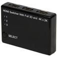 HDMI�Z���N�^�[�i3��́�1�o�́A�����R���t���j  KRSW-HDM310R...