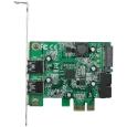 PCI-Express�ڑ� USB3.0�O��2�|�[�g���݃J�[�h LowProfi...