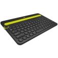 Bluetooth マルチデバイスキーボード ブラック