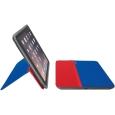 フリーアングル プロテクションケーススタンド iPad mini用 ブルー&レッド
