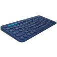 マルチデバイス Bluetoothキーボード ブルー K380BL