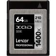 レキサー Professional 1400x XQD 2.0カード 64GB LXQD64GCRBJP1400