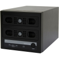 Logitec Windows Storage Server 2012 R2 workgroup Edition搭載 RAID1対応 Cube型NAS/2TB LSV-MS2T/2VKW