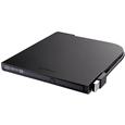 USB2.0用ポータブルDVDドライブ スリムタイプ ブラック  DVSM-PT...