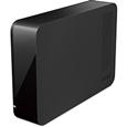 外付ハードディスク USB3.0 PC&TV両対応 省エネ機能付 4TB ブラック HD-LC4.0U3/N