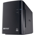 バッファロー ドライブステーション プロ RAID1対応 ミラーリング機能搭載 USB3.0用 外付けHDD 2ドライブモデル 4TB HD-WH4TU3/R1-C