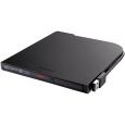 バッファロー BDXL対応 USB2.0用ポータブルブルーレイドライブ スリムタイプ Windows/Mac両対応 Windows専用編集・再生ソフトウェア付属 ブラック BRXL-PT6U2V-BKC