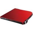 バッファロー BDXL対応 USB2.0用ポータブルブルーレイドライブ スリムタイプ Windows/Mac両対応 Windows専用編集・再生ソフトウェア付属 レッド BRXL-PT6U2V-RDC
