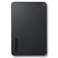 バッファロー USB3.1(Gen1)/USB3.0用 ポータブルHDD 1TB ブラック HD-PCF1.0U3-BBE