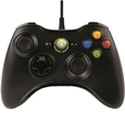 Xbox 360 Controller for Windows USB Port Liquid Black CD-ROM