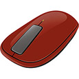 �y����̔��X����zExplorer Touch Mouse Mac/Win Terracotta U5K-00024
