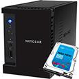 NETGEAR Inc. ReadyNAS 102  2ベイ 2TB x 1台【Seagate NAS 専用HDD (ST2000VN000) 搭載モデル】 RN10200-2TB01-ST