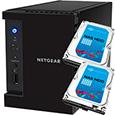 NETGEAR Inc. ReadyNAS 102  2ベイ 2TB x 2台【Seagate NAS 専用HDD (ST2000VN000) 搭載モデル】 RN10200-4TB02-ST