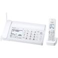 パナソニック(家電) 【箱破損】デジタルコードレス普通紙ファクス(子機1台付き)(ホワイト) KX-PD205DL-W