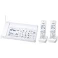 パナソニック(家電) デジタルコードレス普通紙ファクス(子機2台付き)(ホワイト) KX-PD205DW-W