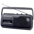 ラジオカセットレコーダー (グレー)RX-M45-H(パナソニック(家電))