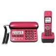パイオニア デジタルコードレス留守番電話機(子機1台) チェリーピンク TF-SD15S-CP